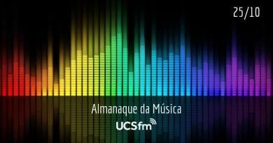 Almanaque da Música UCSfm | 25 de outubro