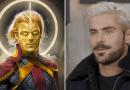 Zac Efron é cotado para viver Adam Warlock em 'Guardiões da Galáxia – Volume 3'