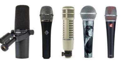 Astros da música doam microfones para evento beneficente