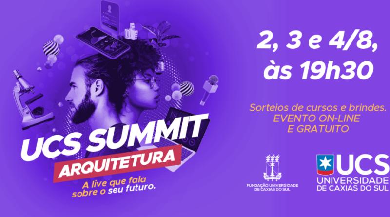UCS Summit abordará Arquitetura e Urbanismo na 4ª edição